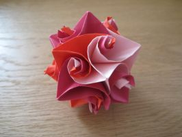 Origami Cuboctahedron by icantwrite