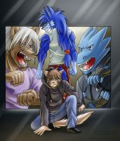 Four Heroes by Kampidh
