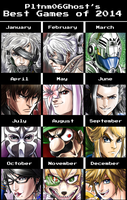 Best Games of 2014 by Pltnm06Ghost