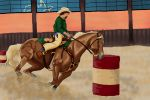 RAK BE Barrel Race #041 by DekoWolfAtHome