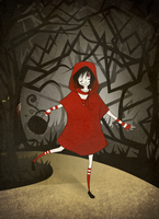 Little red riding hood by momofunhouse101