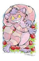 Convention Art - Cheshire Cat by DaphneLage