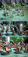 Warhammer 40K Witchhunters by Del-Borovic
