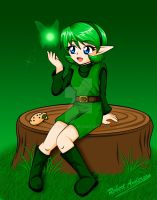 Saria the Forest Sage by Robie-Chan