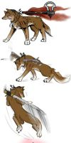 ac3/okami crossover (wolves basically) by blacktenshi22