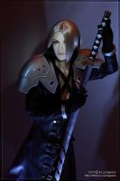 Sephiroth The Strip Dancer 02 by scargeear