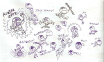 Doodle: Bunch of Aangs. by LimeTH
