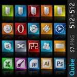 Qube Icon Pack by k2aven