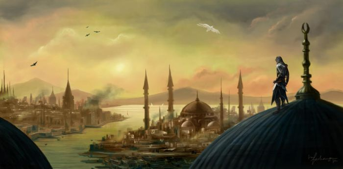 Constantinople by dewmanna