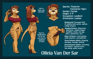 Olivia Character Sheet by RickGriffin