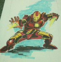 Iron man by art4oneking