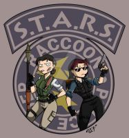 S.T.A.R.S. Team Roll Out by ravenousdarkhart
