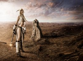 Barbarianess by AndrewDobell