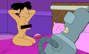 Amy and Bender - Intoxicating Posture by Spider-Matt