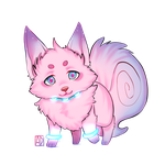 Chibi Color Wolf by PUUY