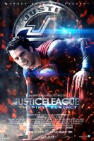 Justice League Superman Poster by Sumitsjc