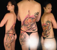 Phoenix woman by viptattoo