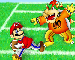 Mario Football by aka-Best