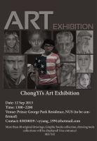 1st Solo Exhibition by chong-yi