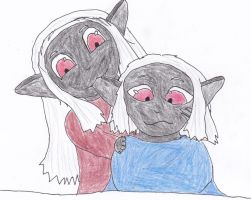 Just A Little Drow Affection by RilwenShadowflame