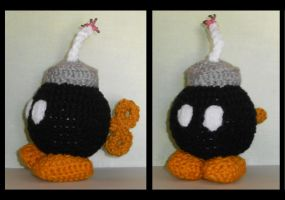 Bomb-omb Amigurumi Plush by Craftigurumi