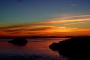 Deception Pass Sunset 3 by indigohippie