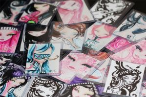 ACEO Trading Cards by InnerSwirl