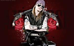 Guns n' Roses Wallpaper by findmyart