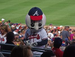Homer, the Braves Mascot by jynx67