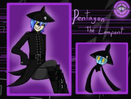 Pentagon the lampent by annathewerewolf