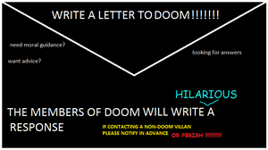 letters to DOOM by beatlemaniac420