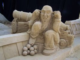 sand sculpture XI by soho-power
