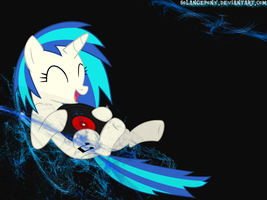 Vinyl Scratch - wallpaper by SolangePony