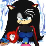 Daismy The Hedgehog - Angry - by I-G-imagination
