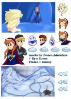 Frozen Adventure [Assets] by KyraDraws