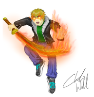 Charlie, Flaming Sword Edition by Grimm697