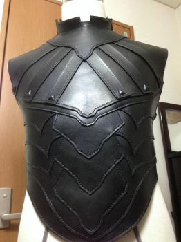 Nightingale Armor Front Work in progress by battosai1976