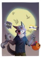 Cute Werewolf - Halloween 2016 by AtaroLapin