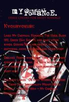 MCR User Info Red by kyouryokubi