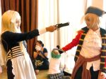 Hetalia Cosplay: Sword vs Knife by Nazuna-tan