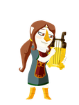 Medli for Zelda Collab by shazmatthews