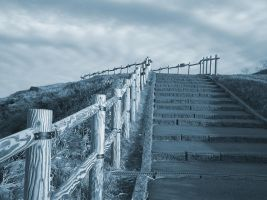 Stairway to Heaven by wingedwhisperer