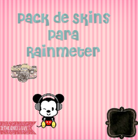 Pack De Skins Para Rainmeter by CutinaEditions