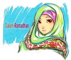 Happy Ramadhan by kapaww