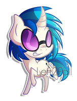 Chibi Vinyl Scratch by Left2Fail
