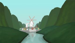 Animated Windmill by SpecterCody