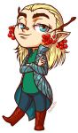 Child Thranduil by tin-sulwen