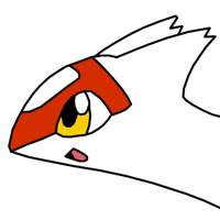 Latias happy remake by RedeyeLatios