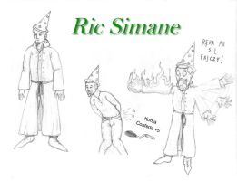 Sesja DnD: Ric Simane by Confede