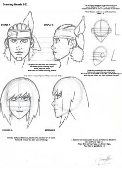 Drawing Heads 101 by Trebball